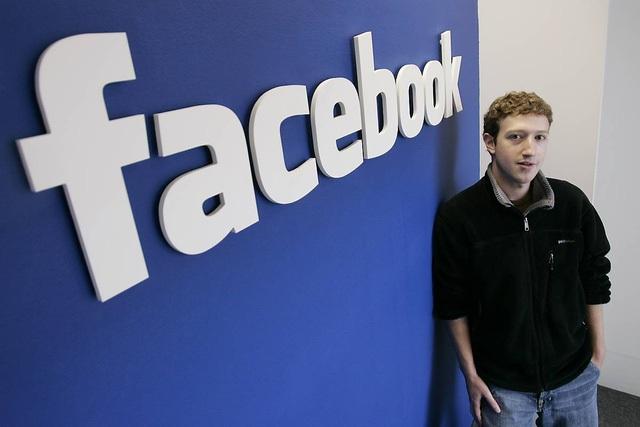 Người đồng sáng lập kiêm tổng giám đốc Facebook Mark Zuckerberg.
