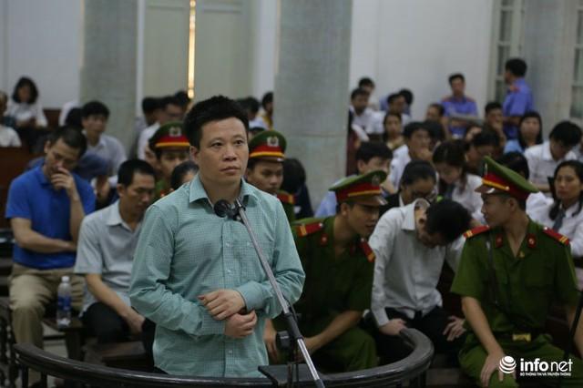 Bị cáo Hà Văn Thắm, nguyên Chủ tịch HĐQT OceanBank.