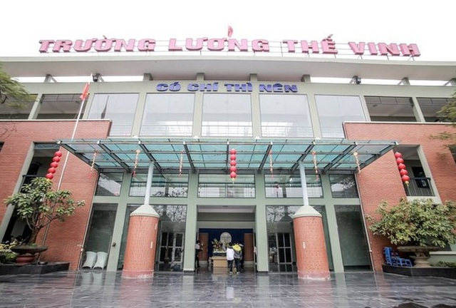 Trường THPT Lương Thế Vinh (Ảnh: website trường).