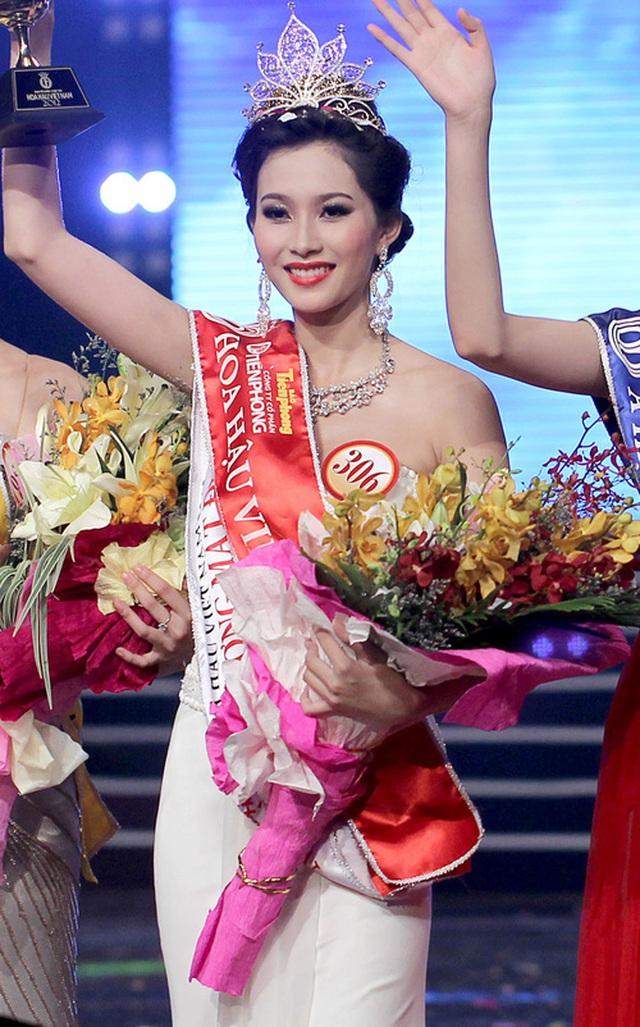 Thời điểm đăng quang Hoa hậu, Đặng Thu Thảo không được lòng công chúng vì điều kiện xuất thân, trình độ học vấn,...