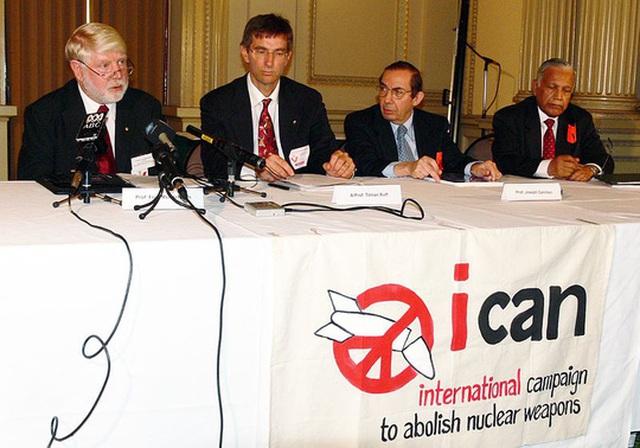 ICAN được trao giải Nobel Hòa bình 2017. Ảnh: Wikimedia