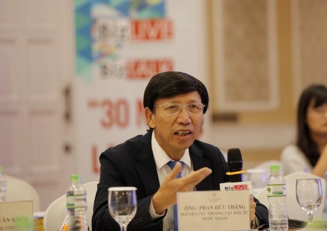 Ông Phan Hữu Thắng - nguyên Cục trưởng Cục Đầu tư nước ngoài. Ảnh: Quang Sơn
