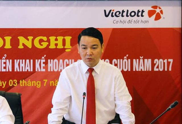 Ông Tống Quốc Trương sẽ nghỉ việc từ 1/10. Nguồn: Vietlott.vn