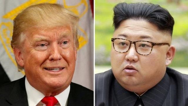 Tổng thống Donald Trump và nhà lãnh đạo Kim Jong-un liên tục đe dọa nhau bằng lời nói. Ảnh: Reuters