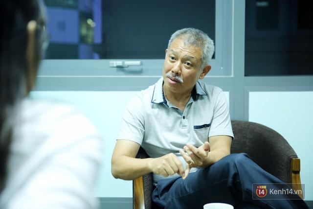 GS-TS Trương Nguyện Thành, Hiệu phó của trường Đại học Hoa Sen, trong buổi nói chuyện.