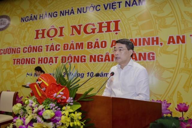 Thống đốc NHNN Lê Minh Hưng muốn toàn ngành tăng cường hoạt động giám sát minh bạch và lấy lại niềm tin của công chúng