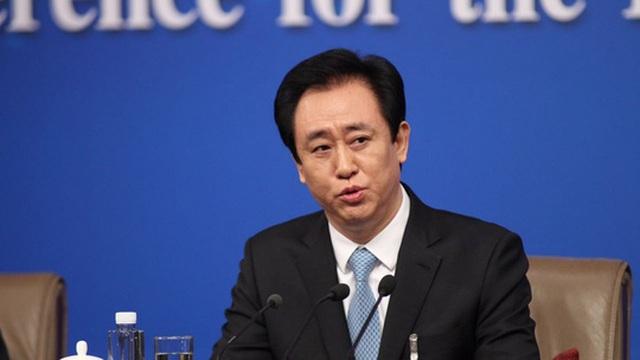 Chủ tịch Công ty bất động sản China Evergrande (EGRNF), ông Xu Jiayin. Ảnh: SCMP