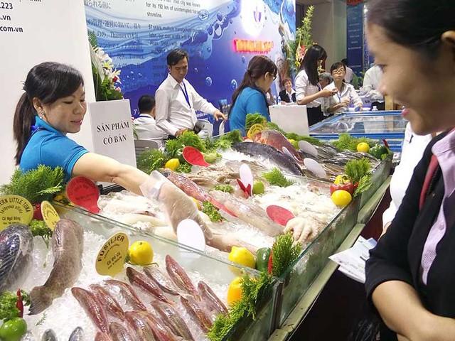 Thời gian qua Mỹ đưa ra nhiều quy định mới với thủy hải sản Việt Nam. Ảnh: QUANG HUY