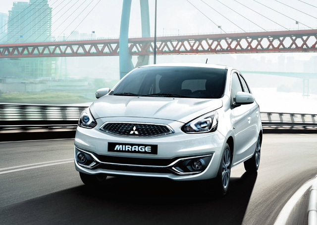 Mitsubishi Mirage giảm giá kịch sàn.