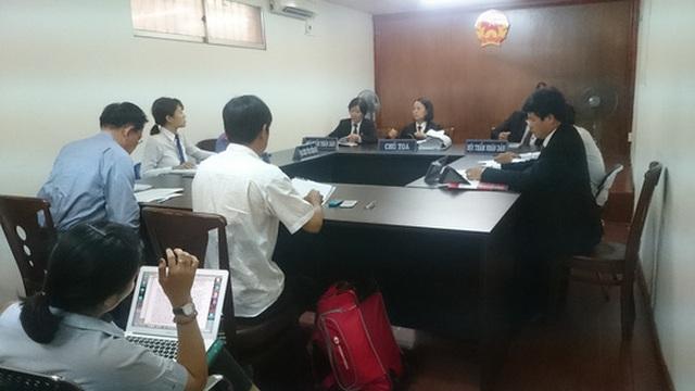 Phiên xử sơ thẩm tại TAND TP HCM