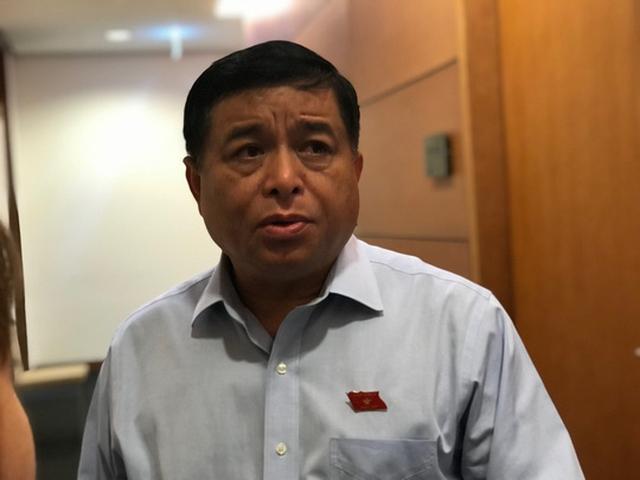 Bộ trưởng Bộ KH-ĐT Nguyễn Chí Dũng