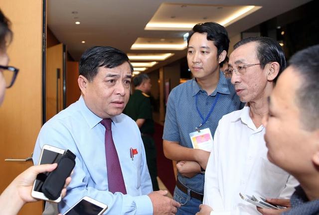 Bộ trưởng KH-ĐT Nguyễn Chí Dũng. Ảnh: Ngọc Thắng.