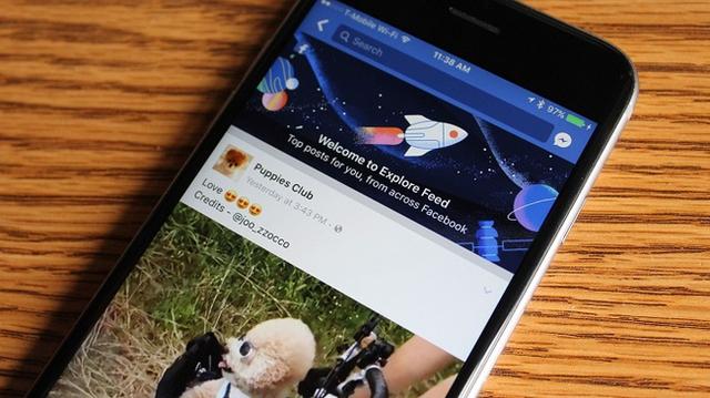 Explore là phiên bản hạng hai của News Feed, dành riêng cho những Page không mua chỗ đăng bài Sponsored.