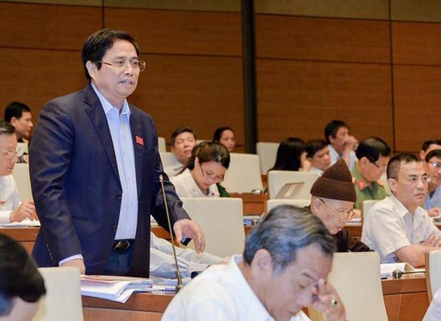 Trưởng Ban Tổ chức Trung ương Phạm Minh Chính - Ảnh: Nguyễn Nam