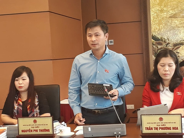 Đại biểu Quốc hội Nguyễn Phi Thường - Ảnh: Nguyễn Nam