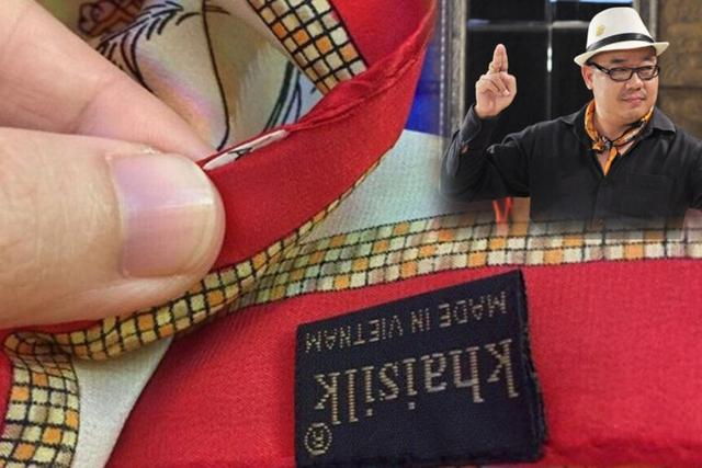 """Khaisilk thừa nhận bán lụa Trung Quốc gắn mác """"made in Việt Nam"""" trong một thời gian dài"""
