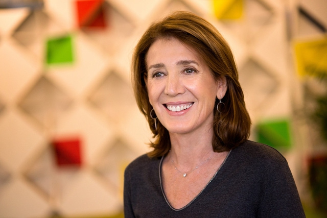 Bà Ruth Porat giám đốc tài chính của Google