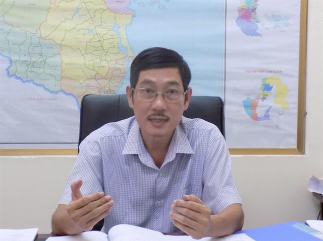 Ông Lê Bá Ninh, PGĐ Sở NN-PTNT Khánh Hòa