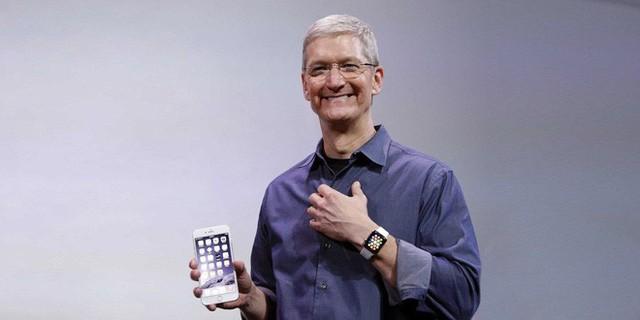 Apple đang cho thấy tốc độ tăng trưởng cực kỳ mạnh mẽ.