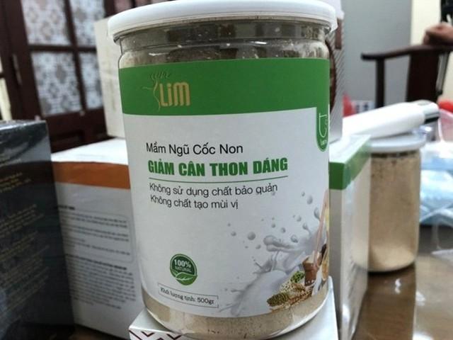 Sản phẩm thực phẩm chức năng tại Công ty TNHH Thiên Nhiên TS Việt Nam Ảnh: TM