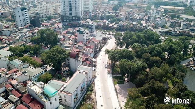 Tuyến đường Nguyễn Đình Chiểu dài 600m với mặt cắt ngang 17m, gồm hai làn xe (mỗi làn rộng 3,5m), bề rộng hè đường mỗi bên 5m. Đây là một trong những công trình trọng điểm của thành phố để giải quyết vấn đề tắc đường tại thủ đô.