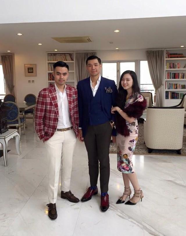 3 người con giỏi giang, giàu có của Chủ tịch tập đoàn Tân Hoàng Minh