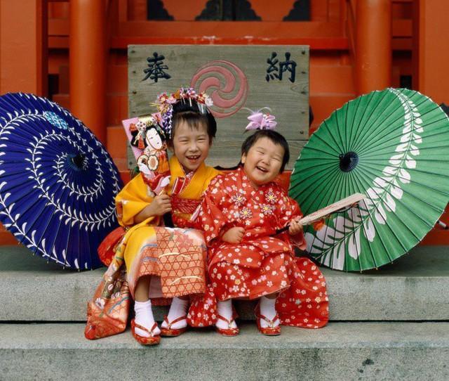 Trẻ em Nhật Bản thường có chung ngày sinh nhật vào những tuổi đặc biệt 3, 5, 7.
