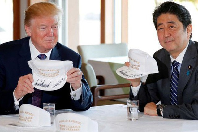 Tổng thống Mỹ Donald Trump đã có chuyến công du châu Á thành công. Ảnh: REUTERS