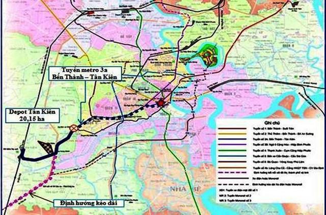Đang 'tắc' vốn, TPHCM lại đề xuất xây tuyến metro 2,8 tỷ USD