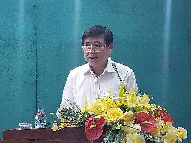 Chủ tịch UBND TP.HCM Nguyễn Thành Phong cho rằng tình trạng ách tắc giao thông là điểm nghẽn tác động mạnh đến sự phát triển TP. Ảnh: TL