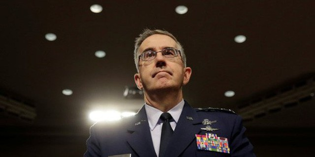 Ông John Hyten. Ảnh: Reuters