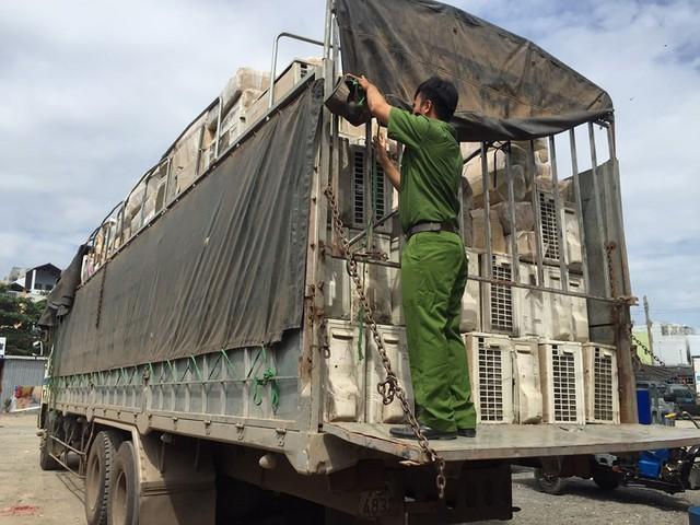 Máy lạnh được chở từ các Campucia qua các tỉnh về TP.HCM tiêu thụ
