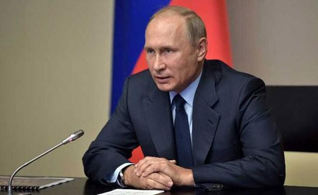 Tổng thống Nga Vladimir Putin Ảnh: REUTERS