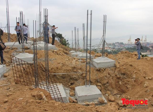 Đà Nẵng có chỉ đạo dừng một số giao dịch bất động sản trên bán đảo Sơn Trà để phục vụ một số làm việc thanh tra. Ảnh: Đức Hoàng