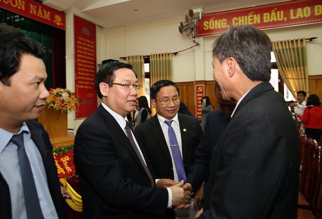 Phó Thủ tướng Vương Đình Huệ với cử tri Hà Tĩnh