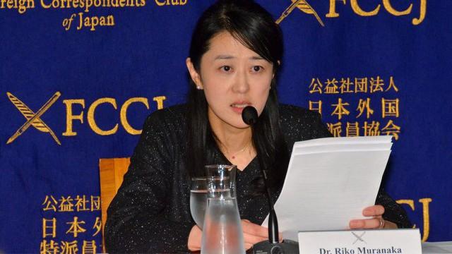 Riko Muranaka, người mới giành giải thưởng John Maddox 2017