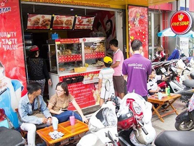 'Ki-ốt thức ăn nhanh Five Star (Ảnh diadiemanuong)'