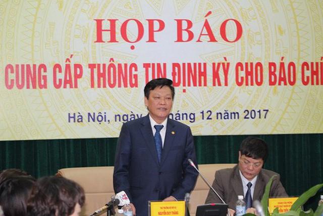 Thứ trưởng Nguyễn Duy Thăng trả lời một số nội dung liên quan đến vụ việc thất lạc hồ sơ Trịnh Xuân Thanh