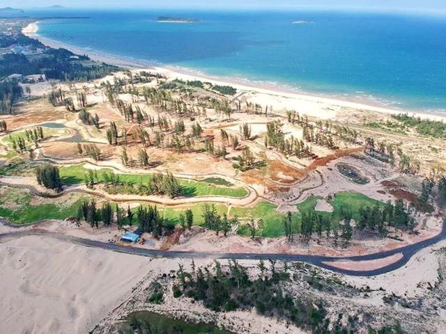 40ha rừng phòng hộ ven biển phía Bắc TP Tuy Hòa đã bị đốn hạ trái phép để triển khai Dự án Khu DL-LHCC New City Việt Nam.