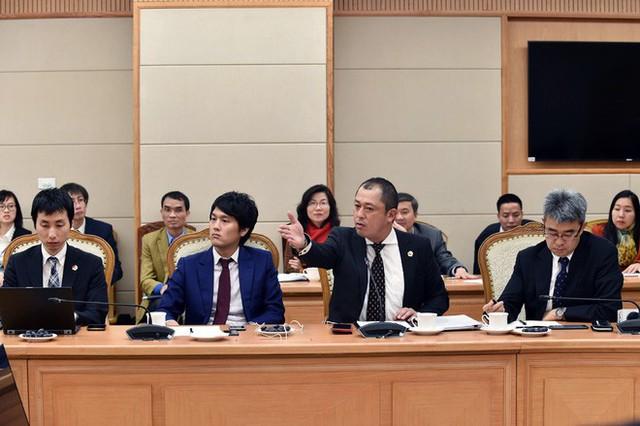 Các doanh nghiệp Nhật nêu đề xuất tại hội nghị. - Ảnh: VGP