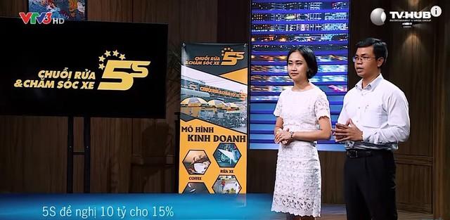 Mục tiêu ban đầu của vợ chồng anh Tuyến là gọi 10 tỷ đồng cho 15% của start-up 5S