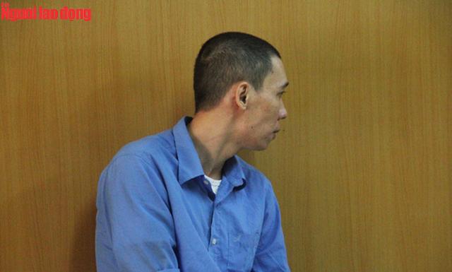 Bị cáo Phú Minh Hòa tại phiên tòa phúc thẩm.