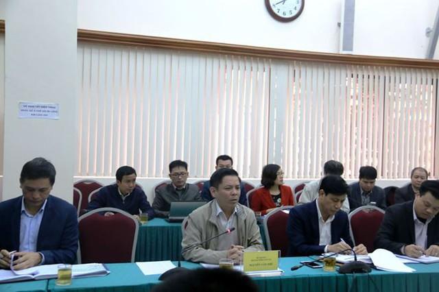 Bộ trưởng Nguyễn Văn Thể chủ trì cuộc họp. Ảnh Cổng thông tin điện tử Bộ GTVT