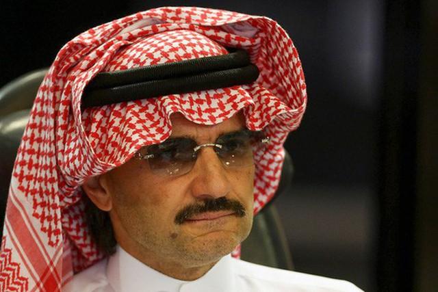 Hoàng thân al-Waleed bin Talal. Ảnh: Reuters