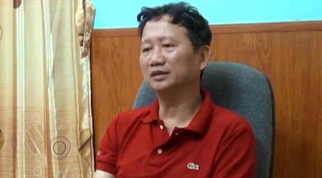 Bị can Đặng Sỹ Hùng đã nhờ người tác động đến Trịnh Xuân Thanh (ảnh) để bán cổ phần hưởng chênh lệch