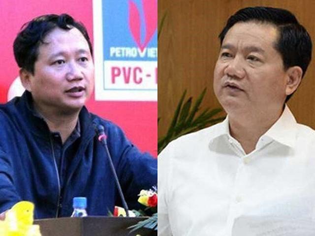 Ông Trịnh Xuân Thanh (trái) và ông Đinh La Thăng bị truy tố. Ảnh: TL