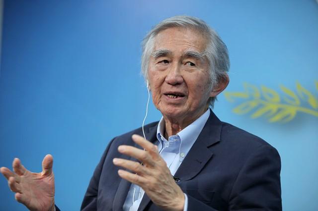 TS Liu Thai Ker, Chủ tịch Trung tâm thành phố đáng sống thuộc Chính phủ Singapore chia se tại Góc nhìn thẳng (ảnh: Lê Anh Dũng)