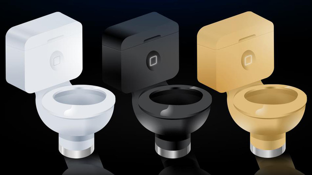 Toilet mang trên mình những đặc trưng nổi bật từ chính smartphone độc tôn của tập đoàn Apple.