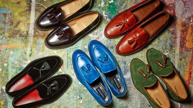 Loại giày lười có tua rua trang trí dễ kết hợp phong cách đa dạng. Ảnh: Forbes.