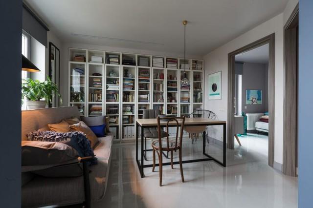 Tuy diện tích nhỏ nhưng căn hộ có lợi thế là 2 mặt thoáng nên tất cả các không gian chức năng trong nhà đều được chiếu sáng bởi ánh sáng tự nhiên.